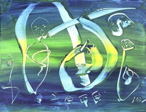 Miller 14-w-6, acrylic